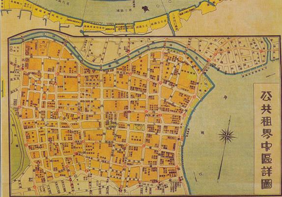 上海租界地图 ……湖北省地图