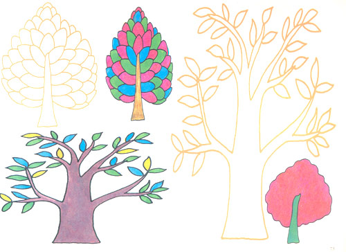 画画涂涂儿童学画入门:植物篇 [平装]
