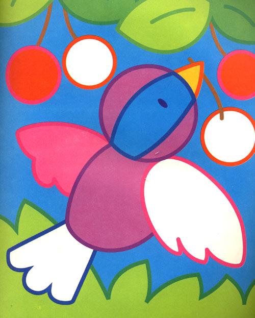 小鸭子儿童插画