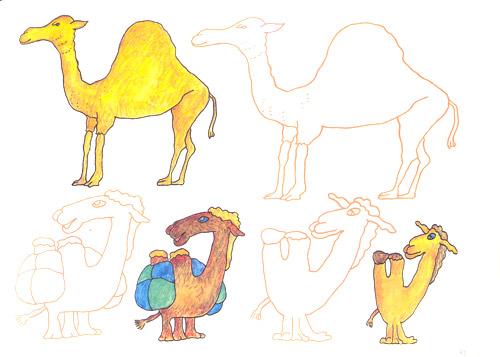 《画画涂涂儿童学画入门:动物篇》