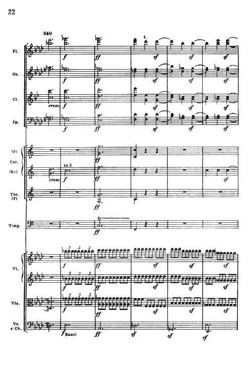 管弦乐总谱 爱格蒙特 序曲 贝多芬