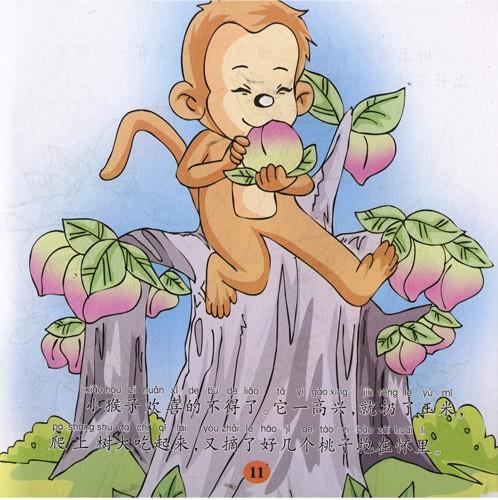 猴妈妈简笔画图片_猴简笔画图片大全