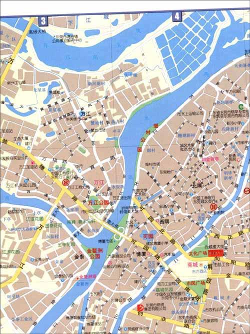 东莞指南地图/本社-图书-亚马逊