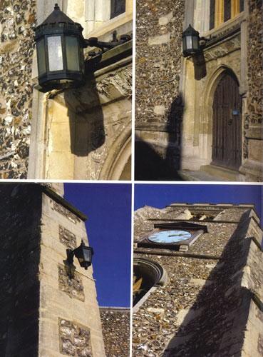 教堂建筑细部设计(英国建筑细部设计写真系列)