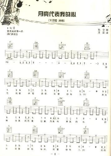 个和弦的吉他谱,小星星和弦吉他谱,天空之城和弦