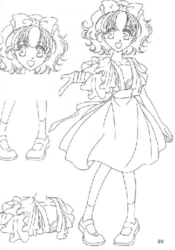 卡通描红薄:神话美少女篇 [平装]