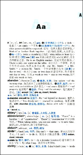 大学英语词汇精解词典
