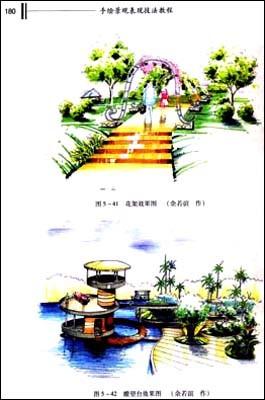 回至 手绘景观表现技法教程 (平装)