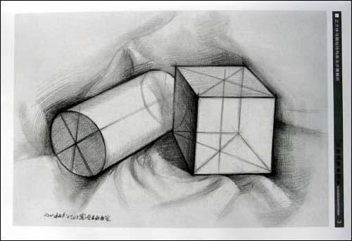 全结构素描范本:石膏几何体2/李胜利-图书-亚马逊