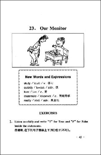 小学英语听力100篇