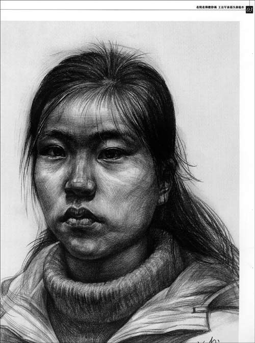 王连军素描头像》由黑龙江美术出版社出版