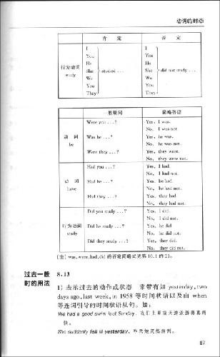 薄冰修订:英语语法手册