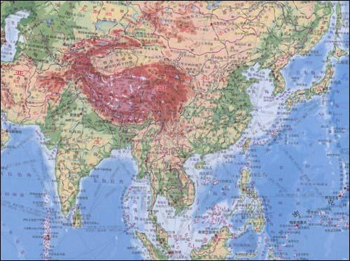 世界地形图 1 33000000 张武冰