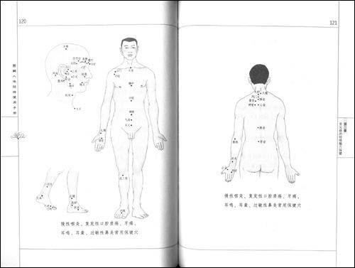 图解人体经络使用手册:现代常见病的经络腧穴治疗与保健 [平装]