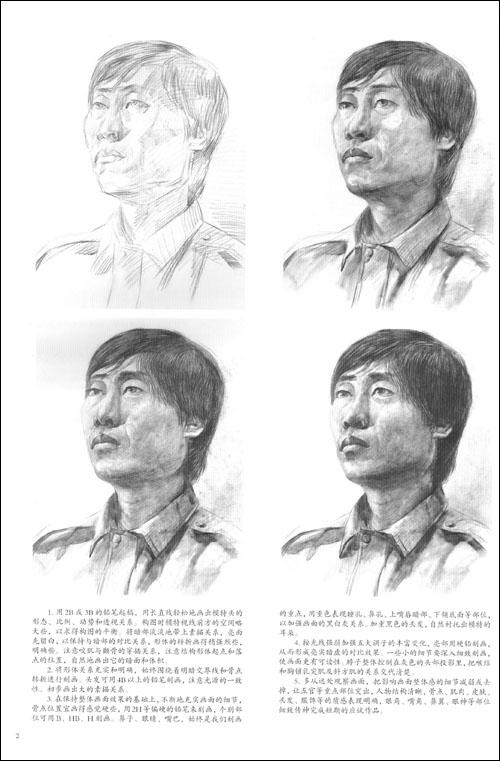 美院画风短期速成:头像素描/陈桂林-图书-亚马逊