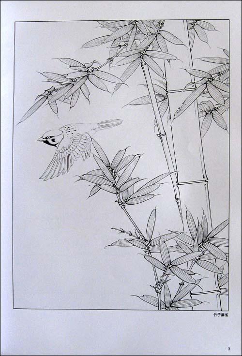 风景素描简单铅笔画 8