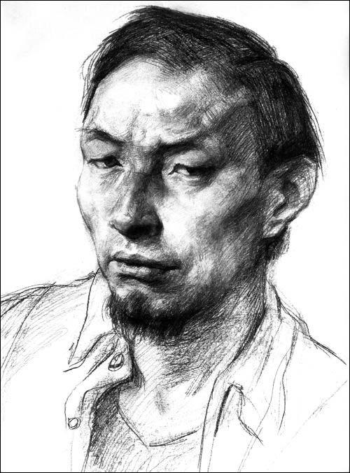 谭昊素描头像临摹范本/谭昊-图书-亚马逊