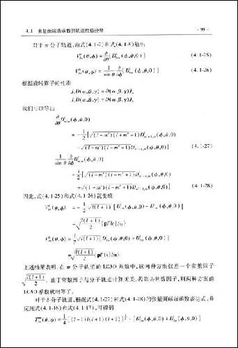 多面体分子轨道 第2版