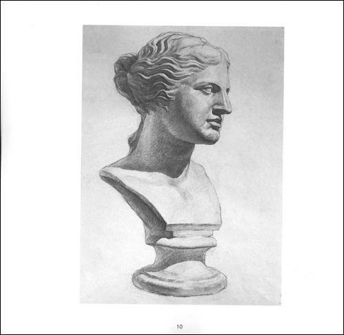 各角度的维纳斯石膏像素描美术高考 心有灵犀 2 张新强 图书 卓越亚马