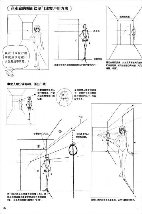 超级漫画素描技法:透视篇