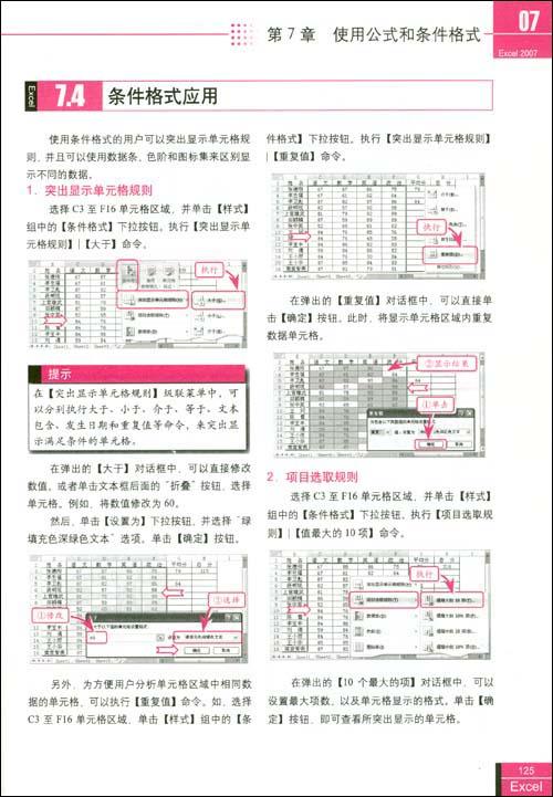 Excel2007办公应用从新手到高手