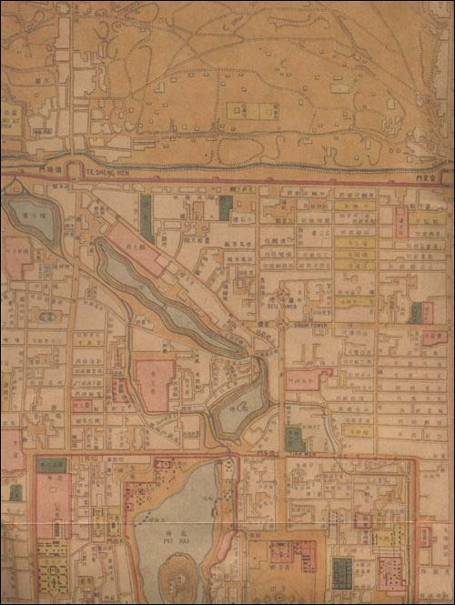 北京地图:民国时期老地图