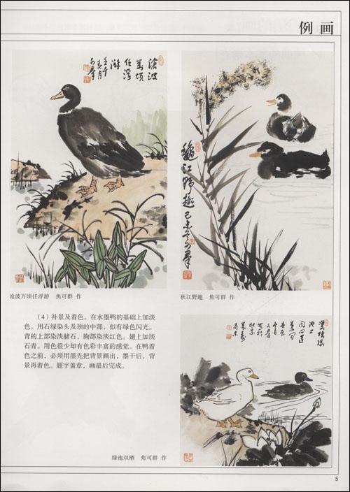 怎样画水禽(抱佛脚丛书) 怎样画兰·菊(抱佛脚丛书) 怎样画鸡(抱佛脚