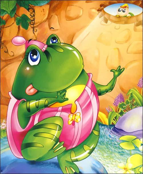 青蛙与乌鸦; 幼儿快乐成长故事绘本集