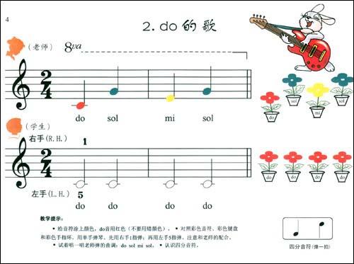 钢琴曲谱,样young钢琴曲谱,幼儿钢琴入门曲谱