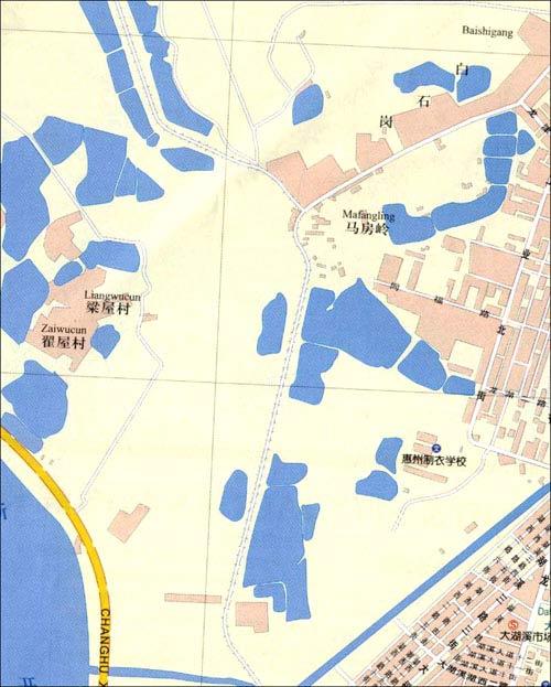 惠州市位于广东省的东南部,珠江三角洲东北端,西邻广州,东莞,南依