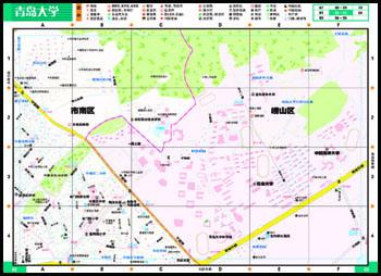 黄岛 崂山北宅地图