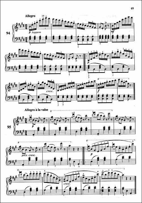 车尔尼钢琴初步教程作品599