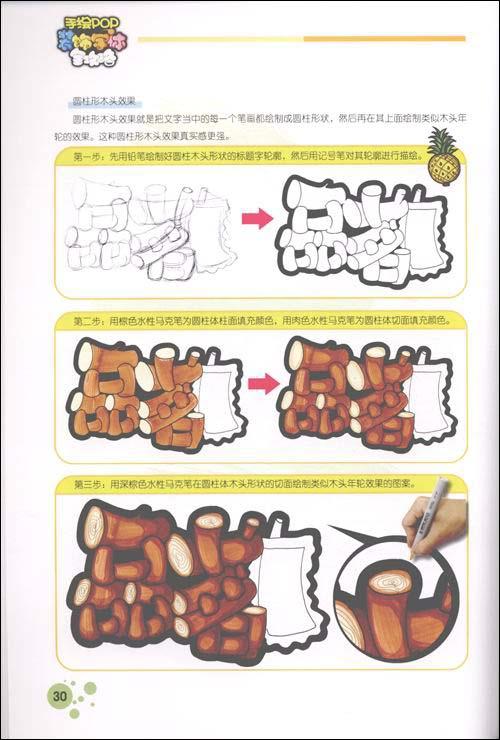 手绘pop装饰字体全攻略-创意篇(手绘pop实用系列丛书)
