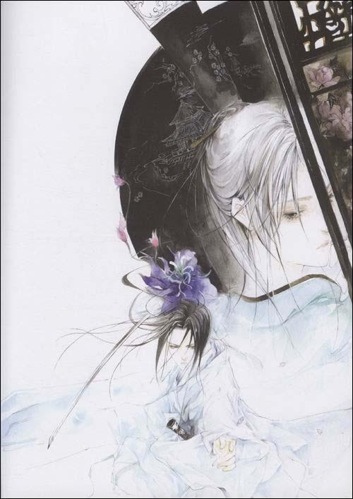 银莲花:经典手绘古风画集