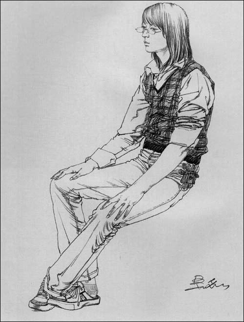 阶梯训练(速写篇)6:美术高考人物动态速写/吴磊