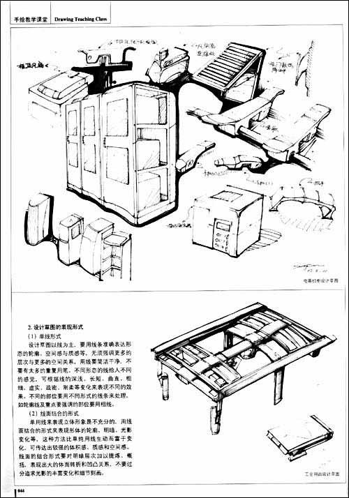 工业设计产品手绘排版_工业设计产品排版