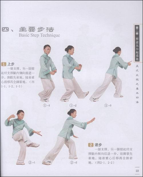 吴式太极标准竞赛套路45式拳