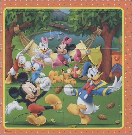 迪士尼益智拼图书:和米奇一起躲猫猫