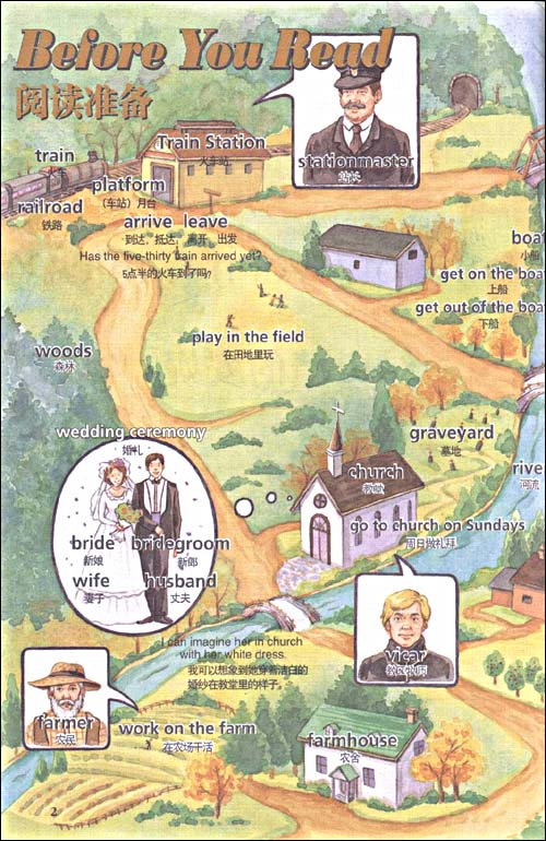 绿山墙的安妮 外研社点读书 第二级 适合初二 初三年级 轻松英语名作欣