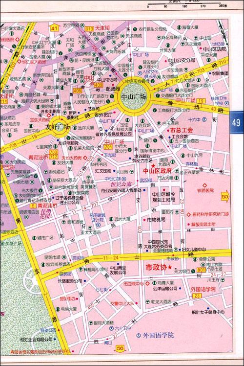 普兰店双塔地图
