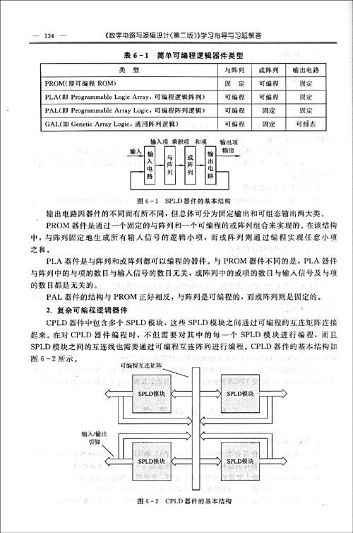 《数字电路与逻辑设计(第2版)》学习指导与习题解答