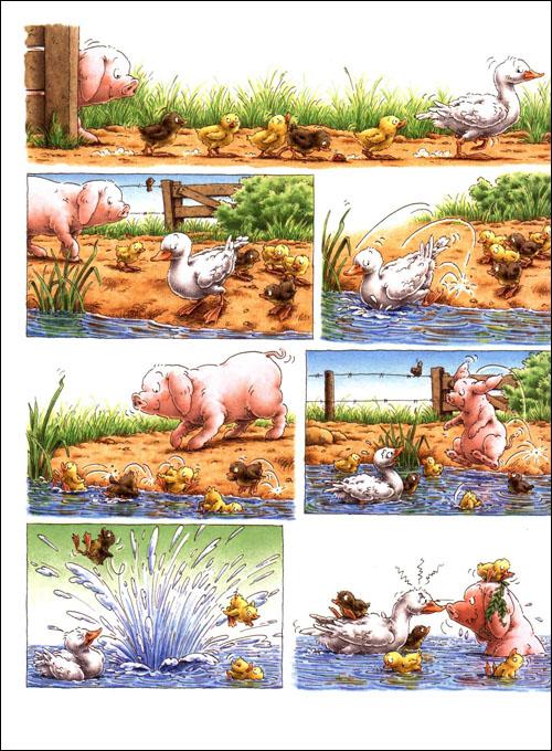 绘本大师汉斯•比尔绘本系列:小猪闹闹