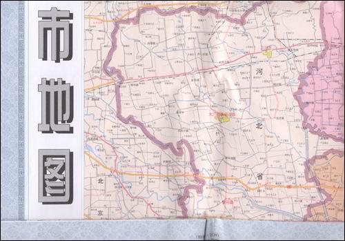 天津市地图