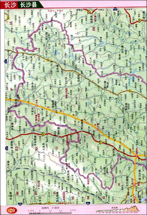 湖南攸县地图_湖南高速公路地图_湖南地图高清版大图_湖南长沙地图
