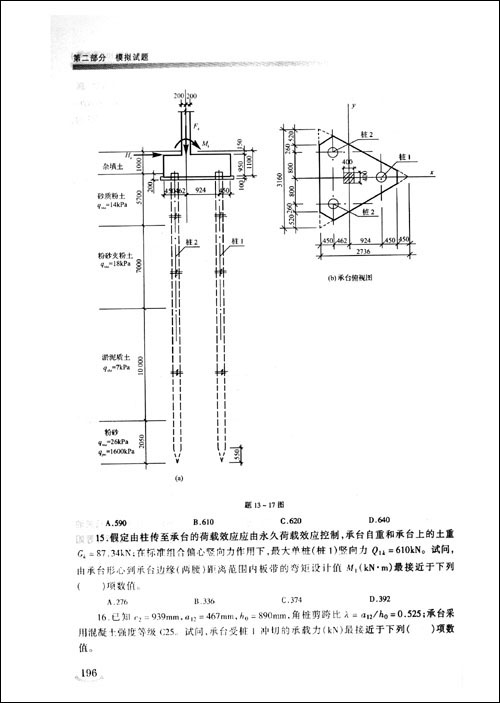 职业法规,土木工程施工与管理,钢筋混凝土结构(含抗震),钢结构,砌体