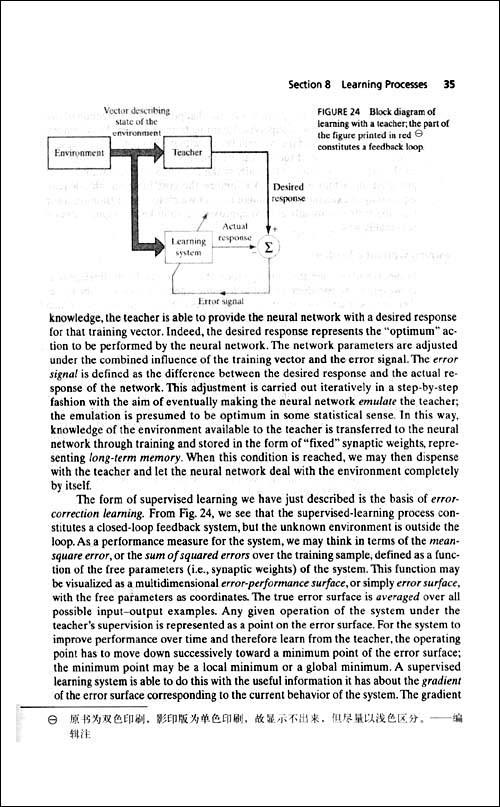经典原版书库:神经网络与机器学习