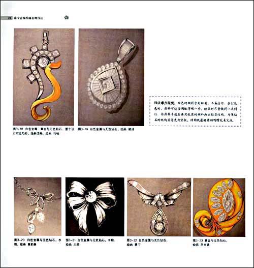 珠宝首饰绘画表现技法