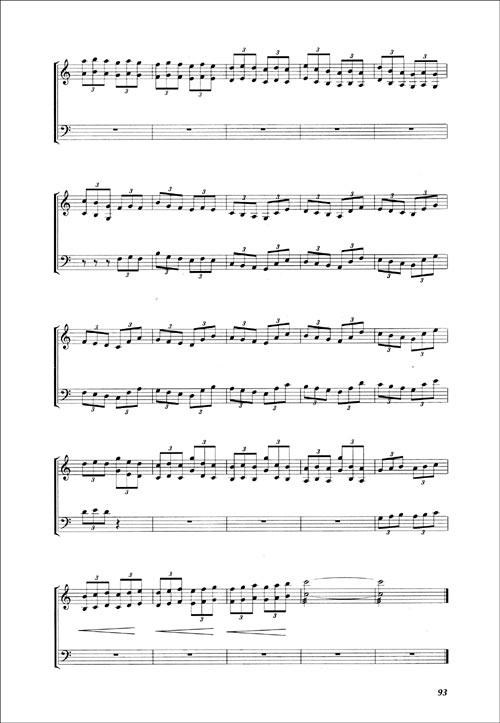 扬琴百首练习曲