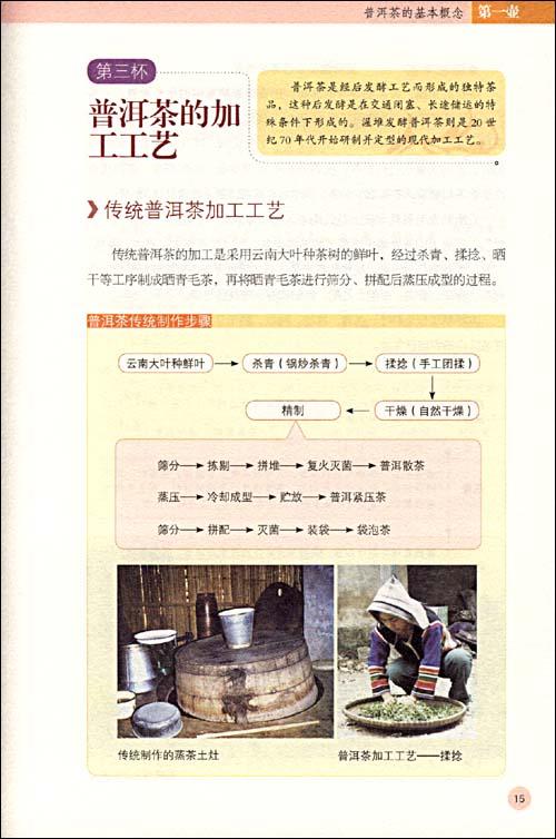 普洱茶鉴赏与冲泡