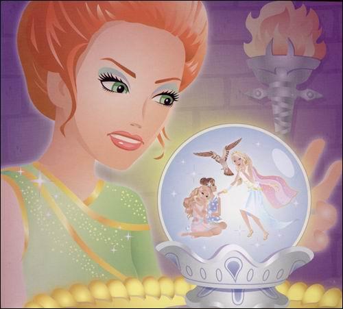 芭比公主童话故事 白云公主 平装